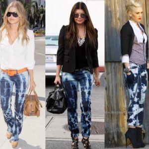 J Brand Tye Dye Skinny Jeans